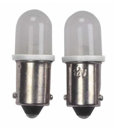 BA9S Fassung LED Standlichtlampe Weiss 2Stück
