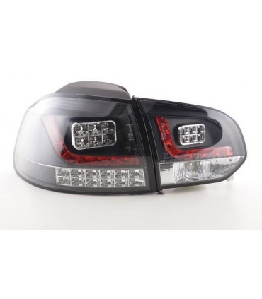 vw golf 6 led heckleuchten klarglas schwarz inkl led blinker. Black Bedroom Furniture Sets. Home Design Ideas